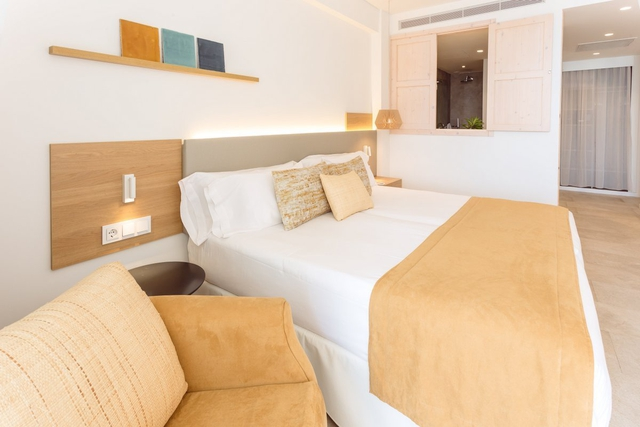 Zimmer superior mit direktem meerblick hotel myseahouse flamingo only adults +16 playa de palma