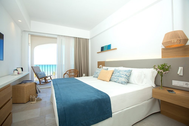 Double room with full sea view myseahouse flamingo hotel playa de palma