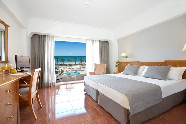 Double room with full sea view myseahouse neptuno hotel playa de palma